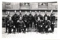 Reservisten in Trier 1911  Auf dem Foto ist Adam Maurer