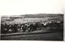 Das Dorf Baerweiler von Nordwesten