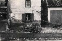 Das Haus von Karl Weck und rechts das Hoftor von August Reidenbach