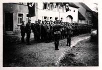 Kranzniederlegung am Volkstrauertag im Jahre 1940