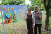 1. Siegerplatz: Maria und Horst